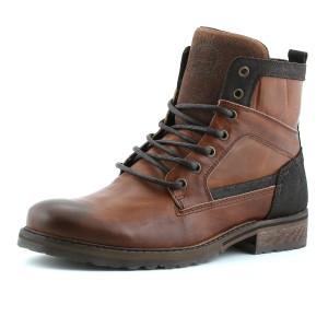 נעלי בולבוקסר לגברים Bullboxer Kevin - חום בהיר