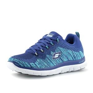 מוצרי סקצ'רס לנשים Skechers Flex Appeal - כחול