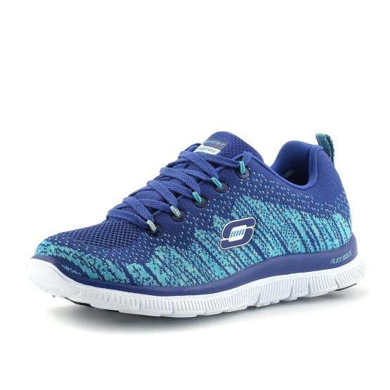 נעלי סקצ'רס לנשים Skechers Flex Appeal - כחול