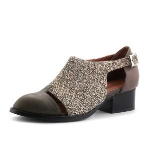 נעלי ג'פרי קמפבל לנשים Jeffrey Campbell Leroy Fur - ירוק