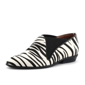 נעלי ג'פרי קמפבל לנשים Jeffrey Campbell Teryn Fur - שחור/לבן