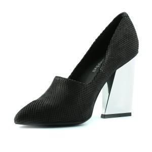 נעלי ג'פרי קמפבל לנשים Jeffrey Campbell  Merrit - שחור/כסף