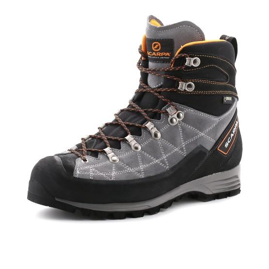 נעלי Scarpa לגברים Scarpa Revolution Pro GTX - אפור/כתום
