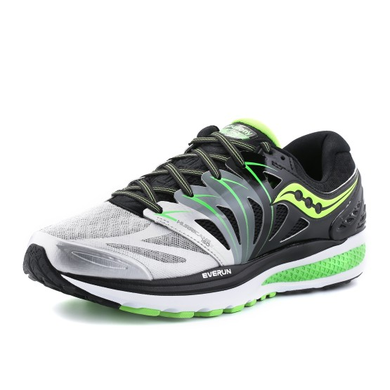 נעלי סאקוני לגברים Saucony Hurricane ISO 2 - שחור/אפור