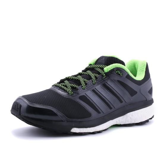 מוצרי אדידס לגברים Adidas Supernova Glide ATR - שחור/ירוק