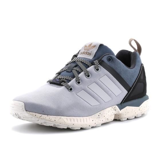 נעלי אדידס לגברים Adidas ZX Flux Split - אפור בהיר