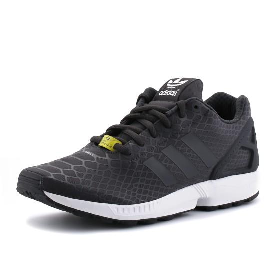נעלי אדידס לגברים Adidas ZX Flux Techfit - שחור
