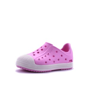 נעלי Crocs לפעוטות Crocs Bump It Shoe K - לבן/ורוד