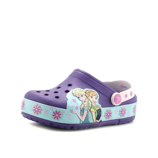 מוצרי Crocs לפעוטות Crocs Crocs CrocsLights Frozen Fever Clog - סגול