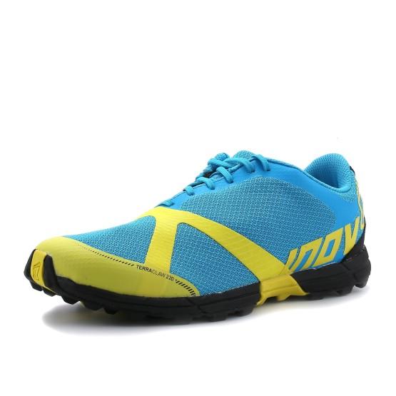 מוצרי אינוב 8 לגברים Inov 8 Terraclaw 220 - כחול/צהוב