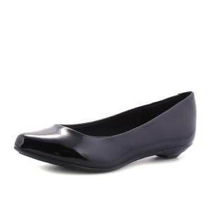 נעלי בריה ריו לנשים Beira Rio Verniz Cristal Brilho - שחור
