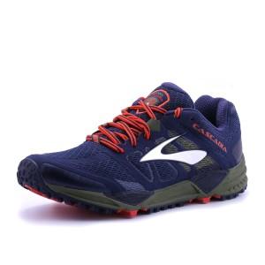 נעלי ברוקס לגברים Brooks Cascadia 11 - כחול/כתום