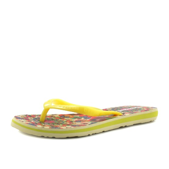 מוצרי דסיגואל לנשים Desigual Flores - צהוב