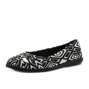 נעלי בלו פיש לנשים Blowfish Glo - שחור/לבן