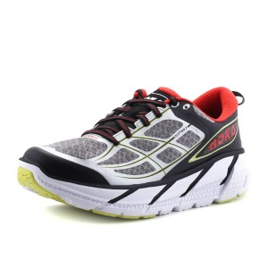נעלי הוקה לגברים Hoka One One  Clifton 2 - אפור/כתום