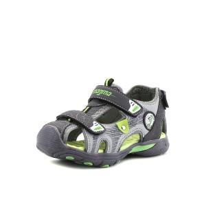 נעלי מגמה לילדים Magma Sandal Close - אפור/ירוק