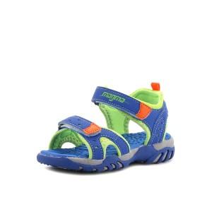 נעלי מגמה לילדים Magma Sandal Strap - כחול/כתום