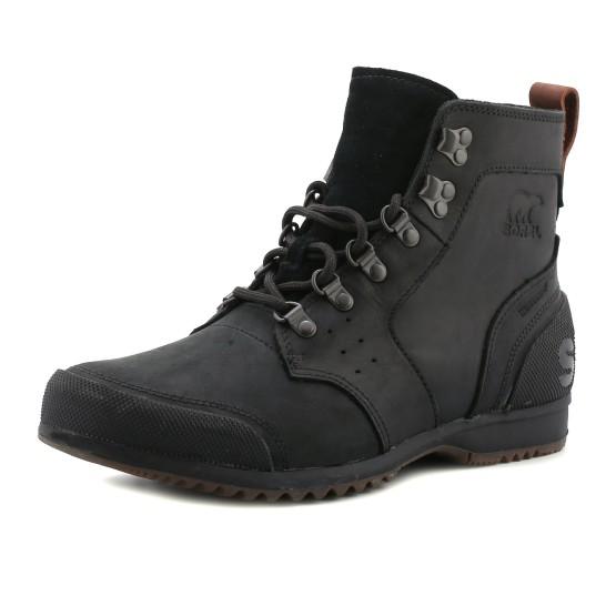 מוצרי סורל לגברים Sorel Ankeny Mid Hiker - שחור