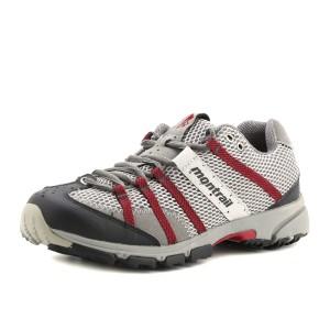 נעלי מונטרייל לגברים Montrail  Mountain Masochist II - אפור/אדום