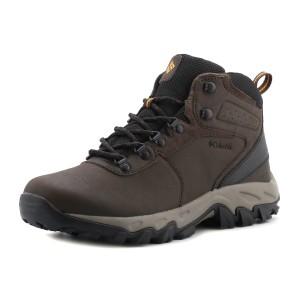 נעלי קולומביה לגברים Columbia  Newton Ridge Plus II WP - חום כהה