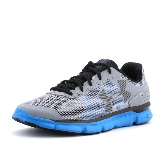 נעלי אנדר ארמור לגברים Under Armour Micro G Speed Swift - אפור