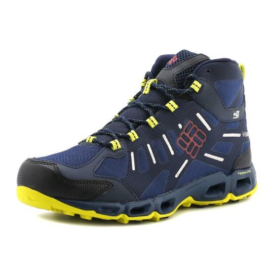 נעלי קולומביה לגברים Columbia Ventfreak Mid Outdry - כחול כהה