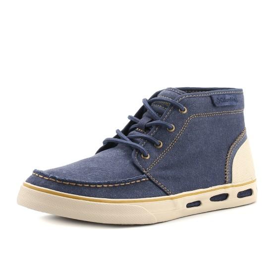 נעלי קולומביה לגברים Columbia Vulc N Vent Chukka Canvas - כחול