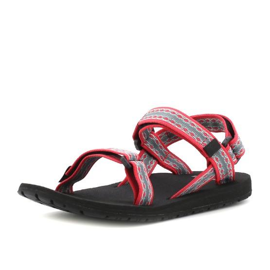 נעלי שורש לנשים Source Classic - אפור/אדום