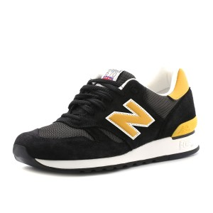 נעלי ניו באלאנס לגברים New Balance M670v - שחור/צהוב