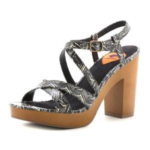 נעלי רוקט דוג לנשים Rocket Dog Belize - שחור/לבן