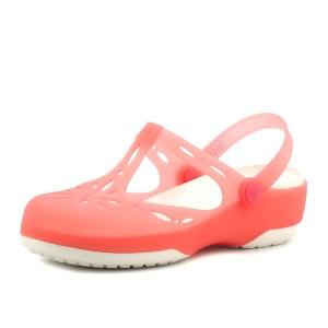 נעלי Crocs לנשים Crocs Carlie Cutout Clog - ורוד