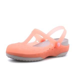 נעלי Crocs לנשים Crocs Carlie MJ Flower - ורוד בהיר