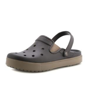 מוצרי Crocs לנשים Crocs CitiLane Clog - חום כהה