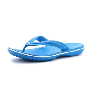 נעלי Crocs לנשים Crocs Crocband Flip  - כחול