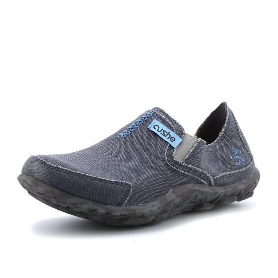 מוצרי קושי לגברים Cushe M Slipper - אפור/כחול