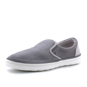 נעלי Crocs לגברים Crocs Norlin Canvas Slip-On - אפור