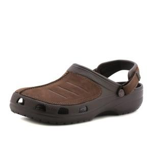 מוצרי Crocs לגברים Crocs Yukon Mesa Clog - חום כהה