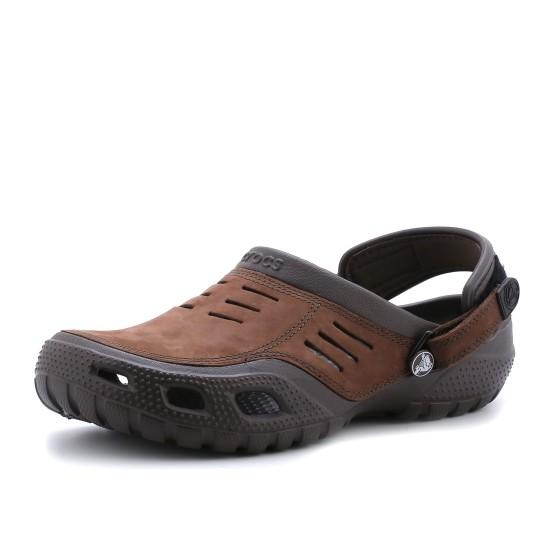 מוצרי Crocs לגברים Crocs Yukon Sport - חום כהה
