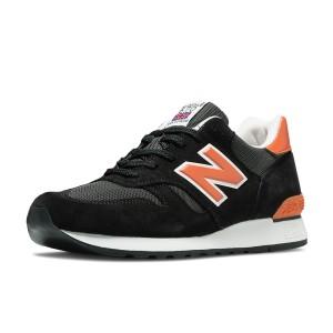 נעלי ניו באלאנס לגברים New Balance M670v - שחור/כתום