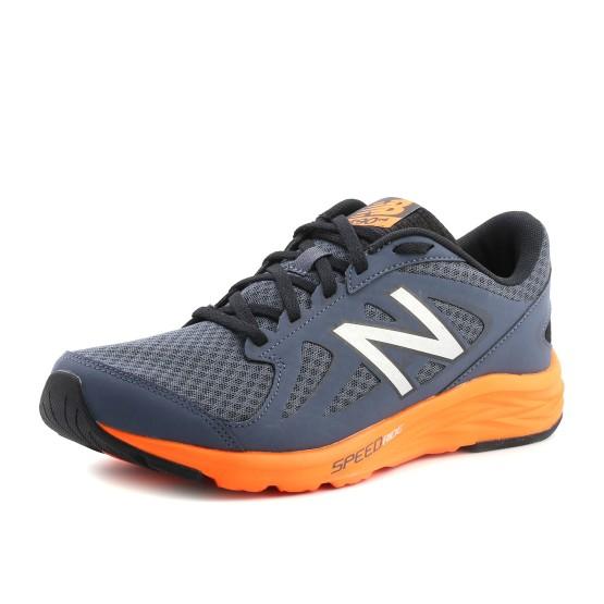 מוצרי ניו באלאנס לגברים New Balance M490 V4 - אפור/כתום