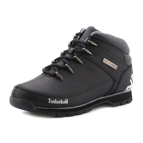 נעלי טימברלנד לגברים Timberland Euro Sprint Hiker - שחור/אפור
