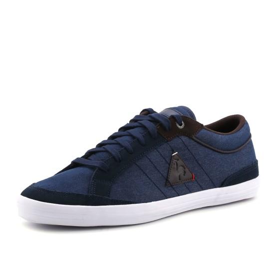 נעלי לה קוק ספורטיף לגברים Le Coq Sportif Feretcraft Denim - כחול כהה