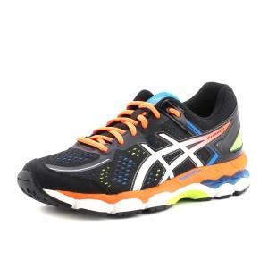 נעלי אסיקס לנוער Asics Gel-Kayano 22 GS - שחור/כתום