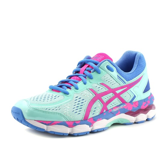 נעלי אסיקס לנוער Asics Gel-Kayano 22 GS - ורוד/טורקיז
