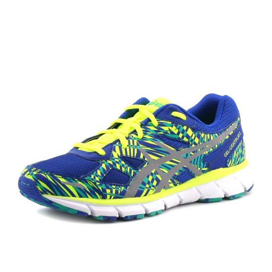 נעלי אסיקס לנוער Asics Gel-Lightplay 2 GS - כחול/ירוק