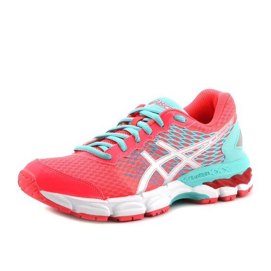 נעלי אסיקס לנוער Asics Gel-Nimbus 18 GS - ורוד/טורקיז