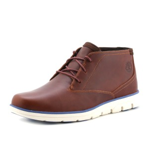 נעלי טימברלנד לגברים Timberland Plain Toe Chukka - חום