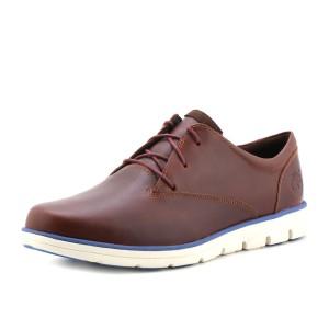 נעלי טימברלנד לגברים Timberland Plain Toe Oxford - חום