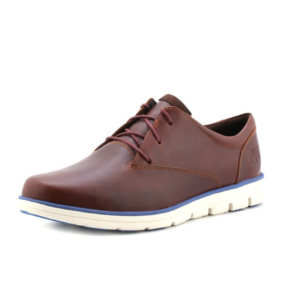 מוצרי טימברלנד לגברים Timberland Plain Toe Oxford - חום