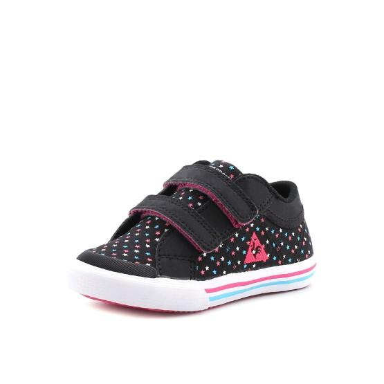 מוצרי לה קוק ספורטיף לפעוטות Le Coq Sportif Saint Gaetan INF Girl Stars - צבעוני/שחור